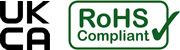 UKCA and RoHS compliant product